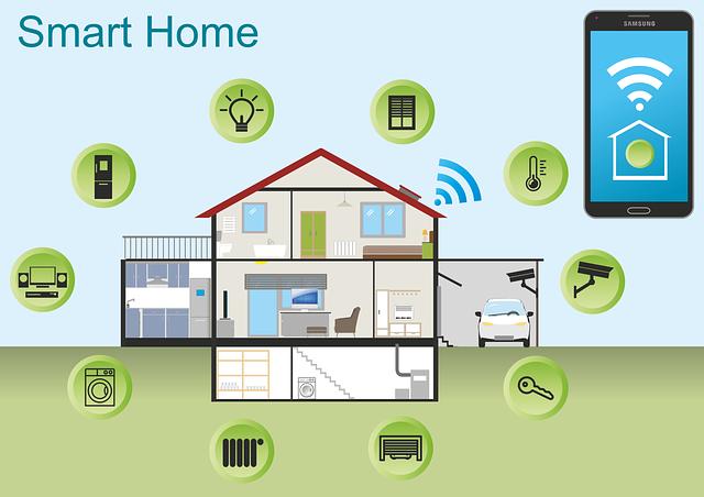dům ovládaný mobilem
