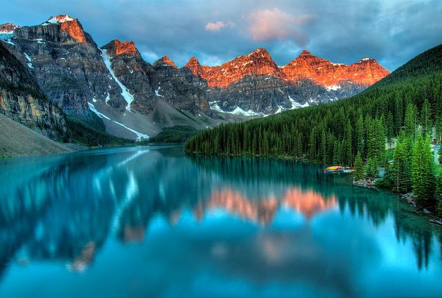 kanadské jezero