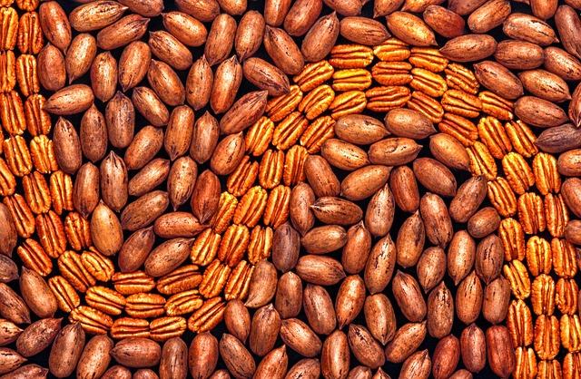 ořechy tapeta